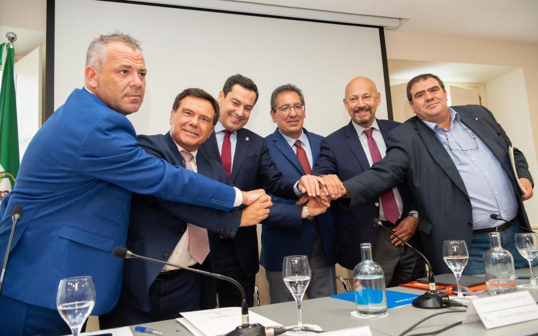 El sector cementero andaluz renueva su acuerdo para garantizar una actividad sostenible en Andalucía