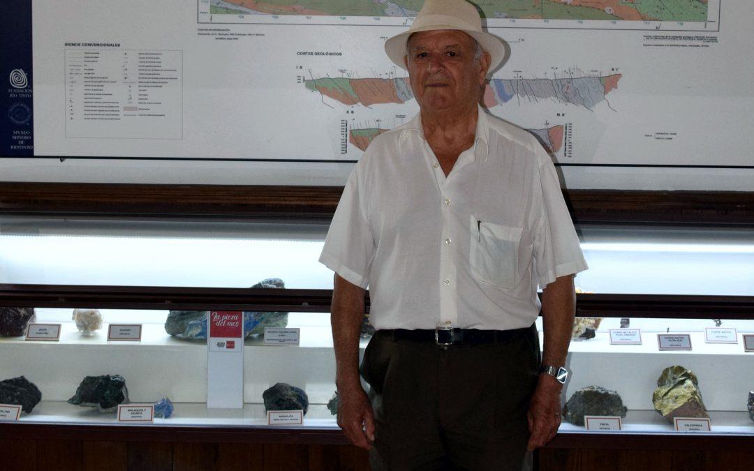 """El Museo Minero de Riotinto recibe en donación otra """"joya"""" de la Faja Pirítica Ibérica"""
