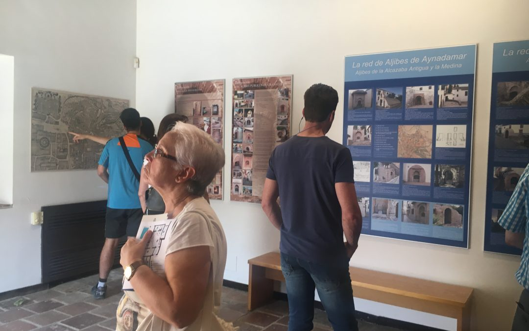 Nuevo récord de asistencia al Aljibe del Rey en el Día de la Solidaridad de Ciudades del Patrimonio