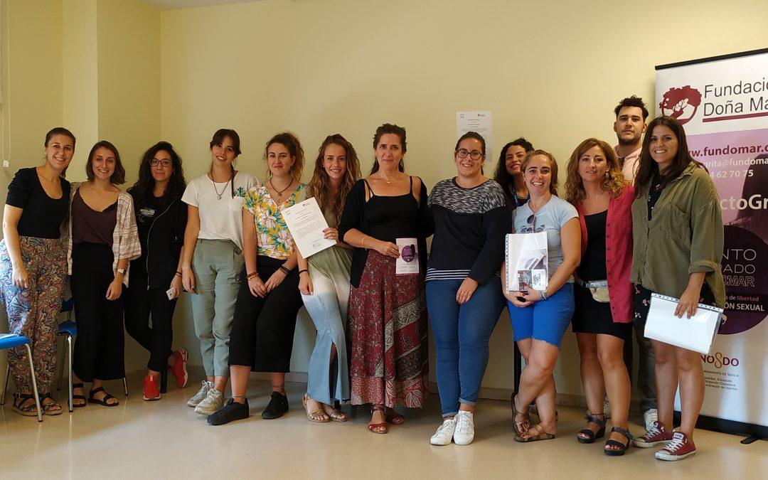 Fundación Doña María desarrolla el Proyecto Grita