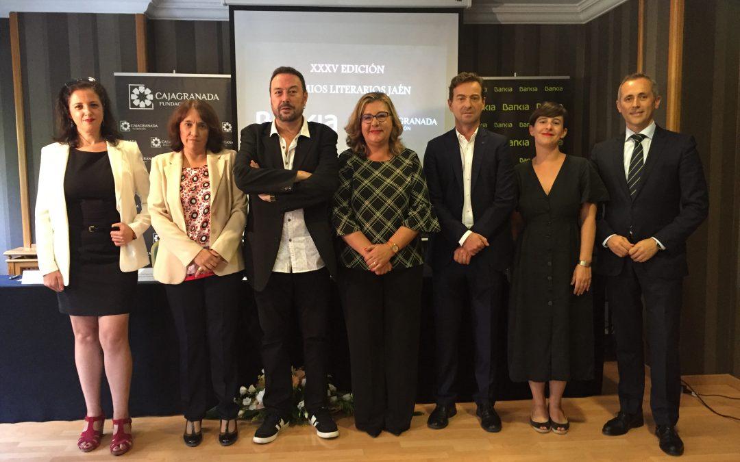 CajaGranada Fundación y Bankia proclaman las tres obras ganadoras de la 35 edición de los 'Premios Literarios Jaén 2019'