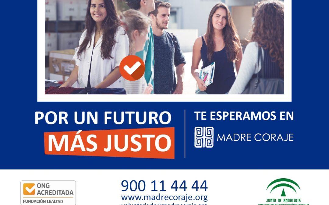 Madre Coraje reactiva en Jerez su campaña 'No hay excusas' en busca de personas voluntarias y solidarias