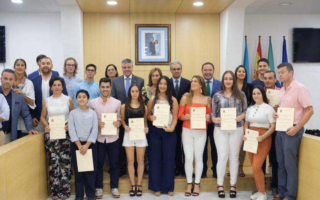 La Fundación José Manuel Lara concede este año 34 becas de estudios superiores a alumnos de Mairena del Alcor y El Pedroso
