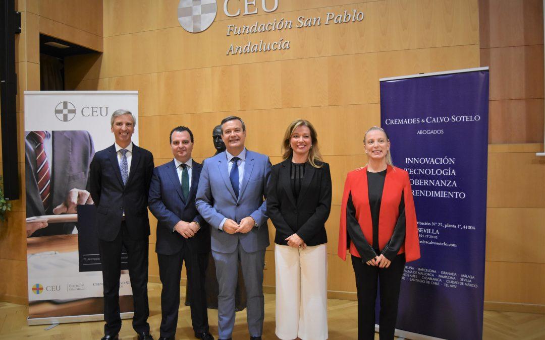 CEU Andalucía y Cremades Calvo-Sotelo presentan el I Máster en Derecho Empresarial de las Nuevas Tecnologías