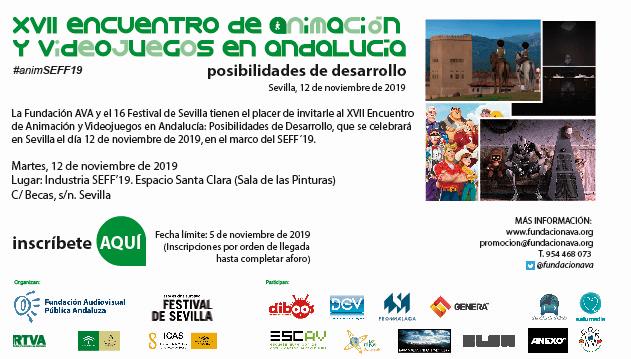 XVII Encuentro de Animación y Videojuegos en Andalucía: posibilidades de desarrollo