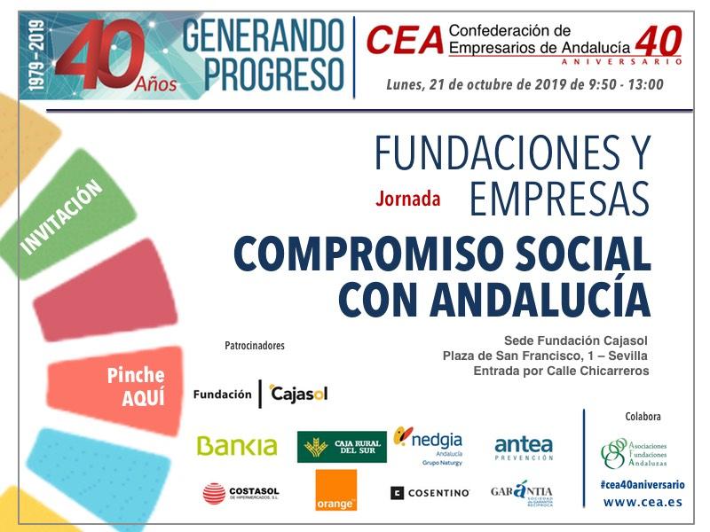 Nueva jornada sobre Fundaciones y Empresas organizada por la CEA