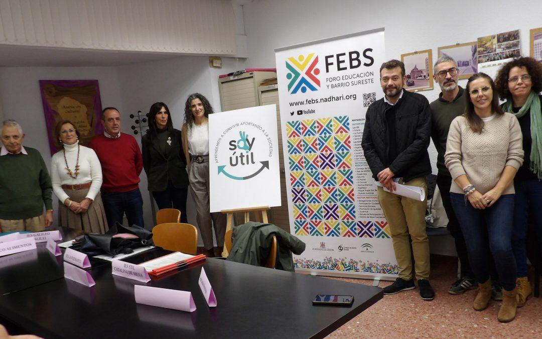 """El Banco de Alimentos de Córdoba renueva el acuerdo del programa """"Soy útil"""""""