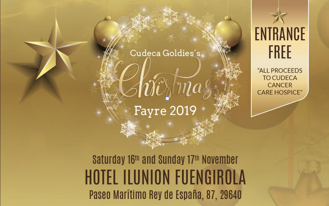Cudeca Goldies celebra su tradicional Christmas Fayre