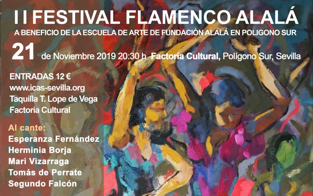 Convocado el II Festival Flamenco Alalá