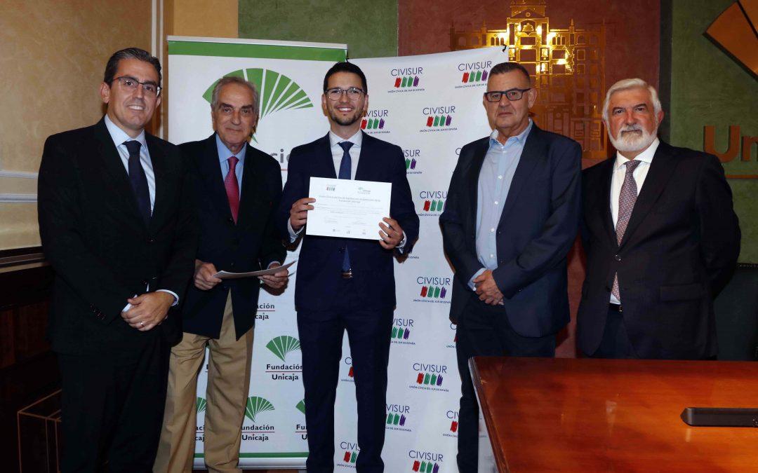 Fundación Unicaja hace entrega de la 'I edición del Premio Civisur' a la mejor tesis doctoral