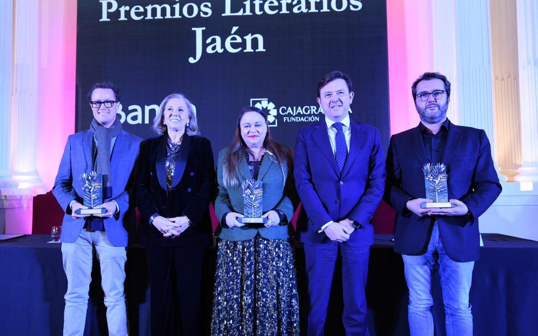 Zoé Valdés, Rodrigo Olay y Álvaro Colomer, ganadores de los XXXV 'Premios Literarios Jaén' de CajaGranada Fundación y Bankia