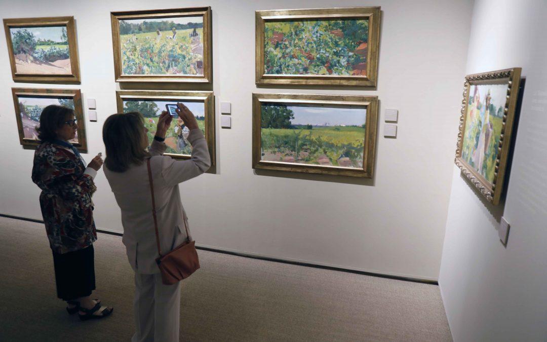 La exposición 'Sorolla tierra adentro' de la Fundación Unicaja alcanza las 10.000 visitas en tan solo un mes