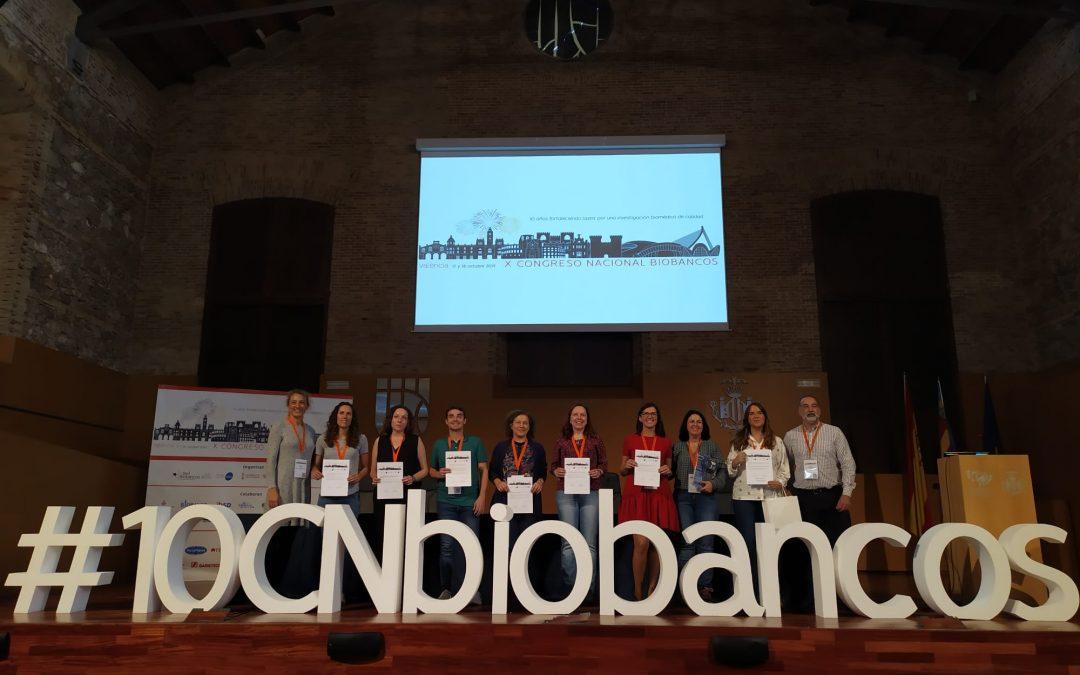 El Biobanco del Sistema Sanitario Público de Andalucía, premiado en el X Congreso Nacional de Biobancos