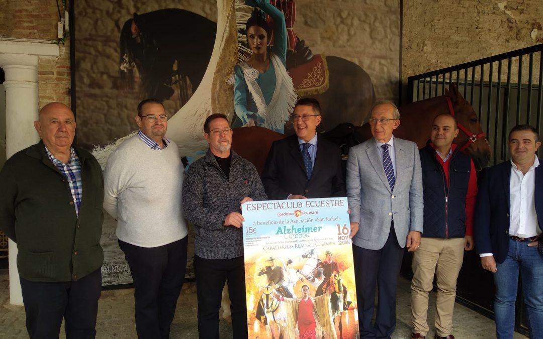 Córdoba Ecuestre presenta su espectáculo a favor del Alzehimer