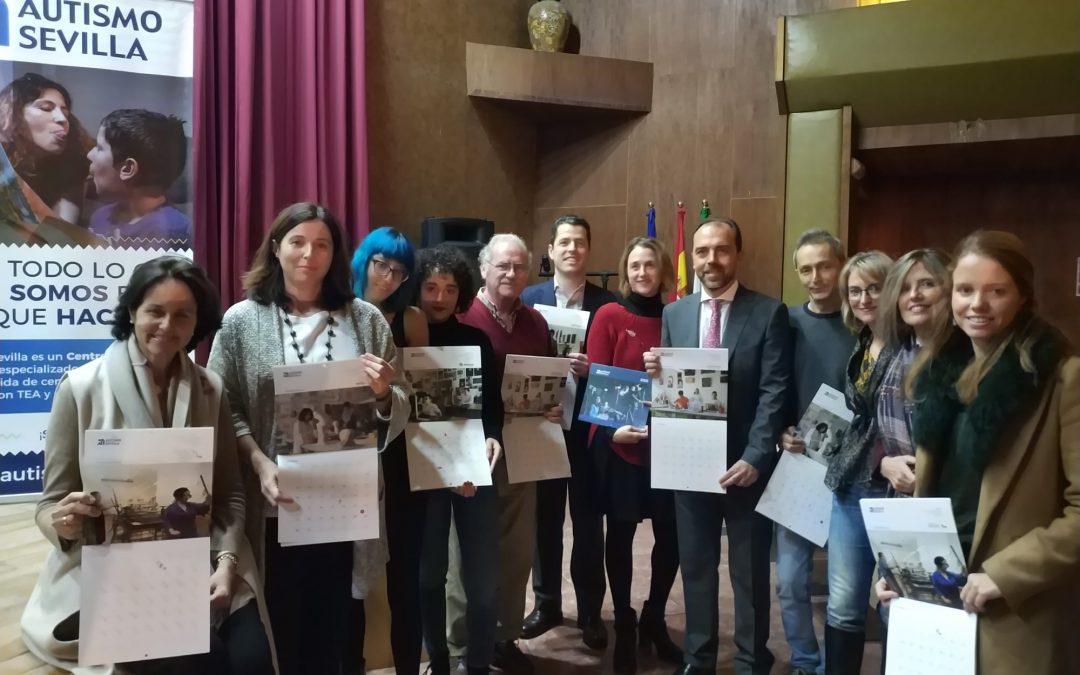 El arte y las disciplinas artísticas, protagonistas del Calendario Solidario de Autismo Sevilla para 2020