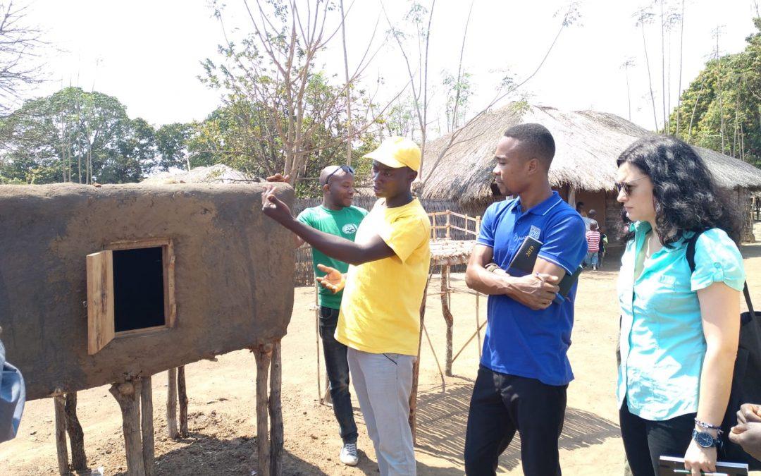 800 familias en Mozambique se involucran en un proyecto de Madre Coraje para la seguridad alimentaria y nutricional