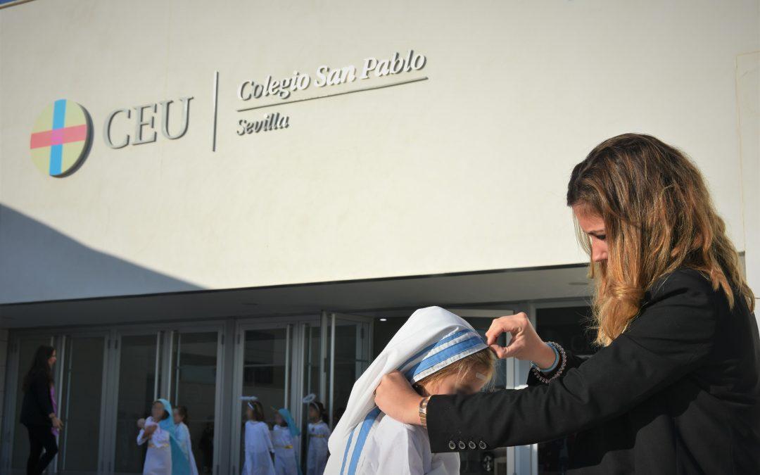 Celebración del Día de Todos los Santos en el Colegio CEU San Pablo Sevilla