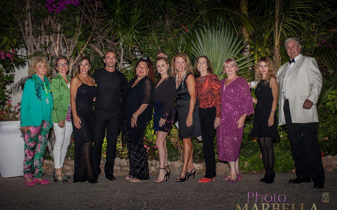 Gran noche de solidaridad en la Cena de Gala de Villa Tiberio a beneficio de la Fundación Cudeca