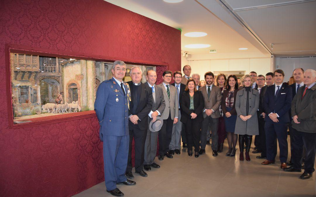 Inauguración de El Nacimiento de la Alegría, una iniciativa impulsada por CEU Andalucía, COPE Sevilla y Fundación Caja Rural del Sur