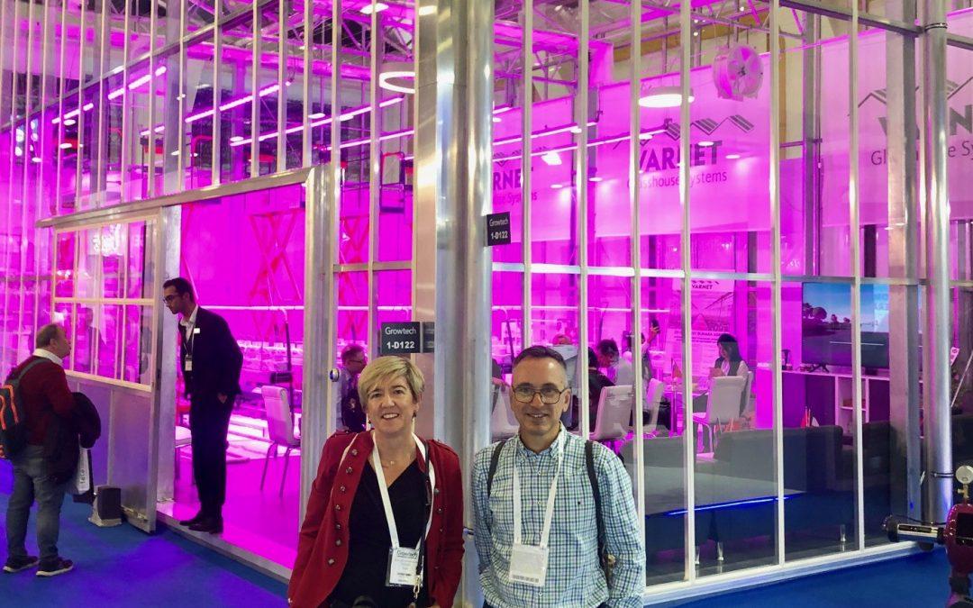 La Fundación Tecnova en busca de nuevas tendencias y oportunidades en la Feria Internacional de Invernaderos