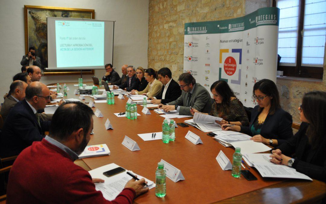 """La Fundación """"Estrategias"""" aprueba la reformulación del horizonte temporal del II Plan Estratégico de la provincia de Jaén a 2023"""