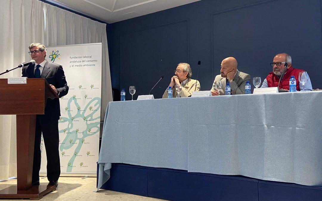 El sector cementero andaluz explica en Alcalá de Guadaira su hoja de ruta en materia de sostenibilidad