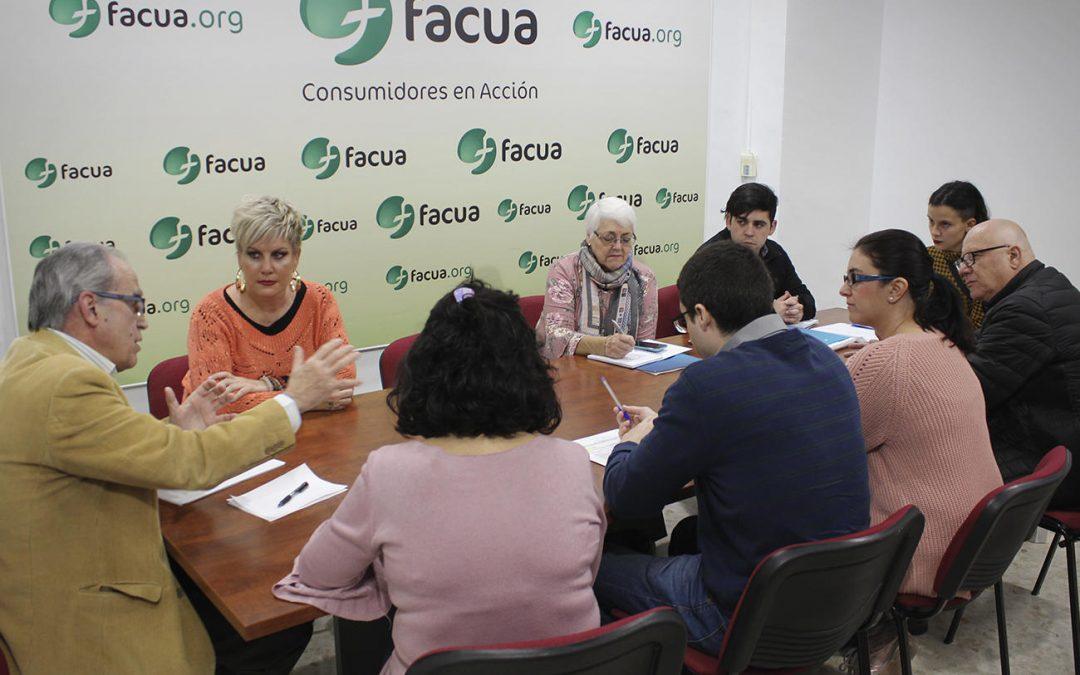 FACUA y su Fundación reciben a representantes de la organización de consumidores chilena Conadecus
