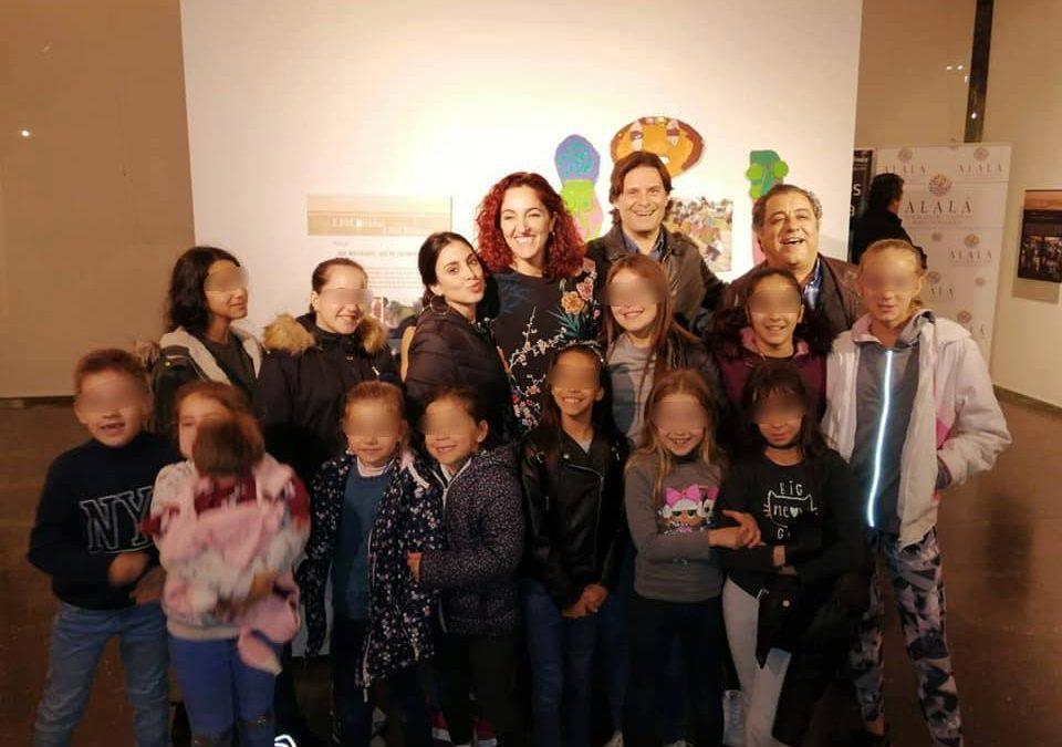 La Fundación Alalá muestra el resultado de sus talleres en la exposición '3.000 Miradas. 3.000 Bellezas'