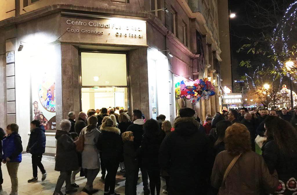 Cerca de 25.000 personas han visitado la exposición dedicada a los belenes del mundo, en el Centro de Exposiciones de CajaGranada Puerta Real