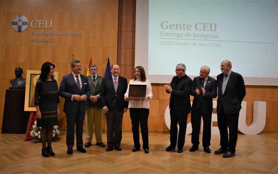 CEU Andalucía celebra la XXIII Noche de San Pablo