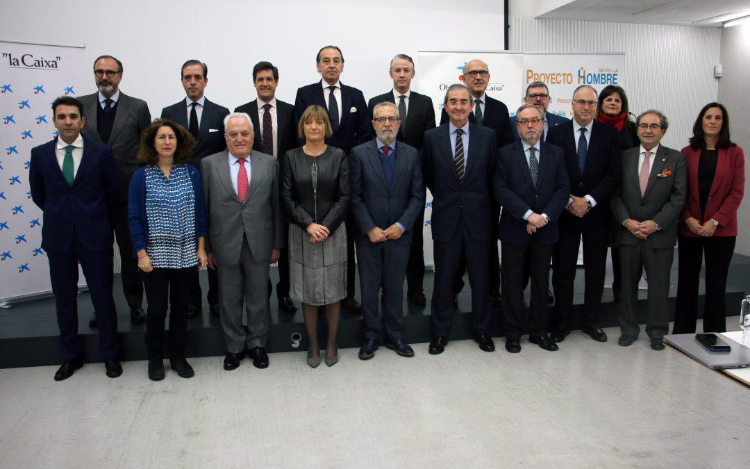 Una veintena de empresas y entidades muestran su apoyo al programa de becas de Proyecto Hombre Sevilla