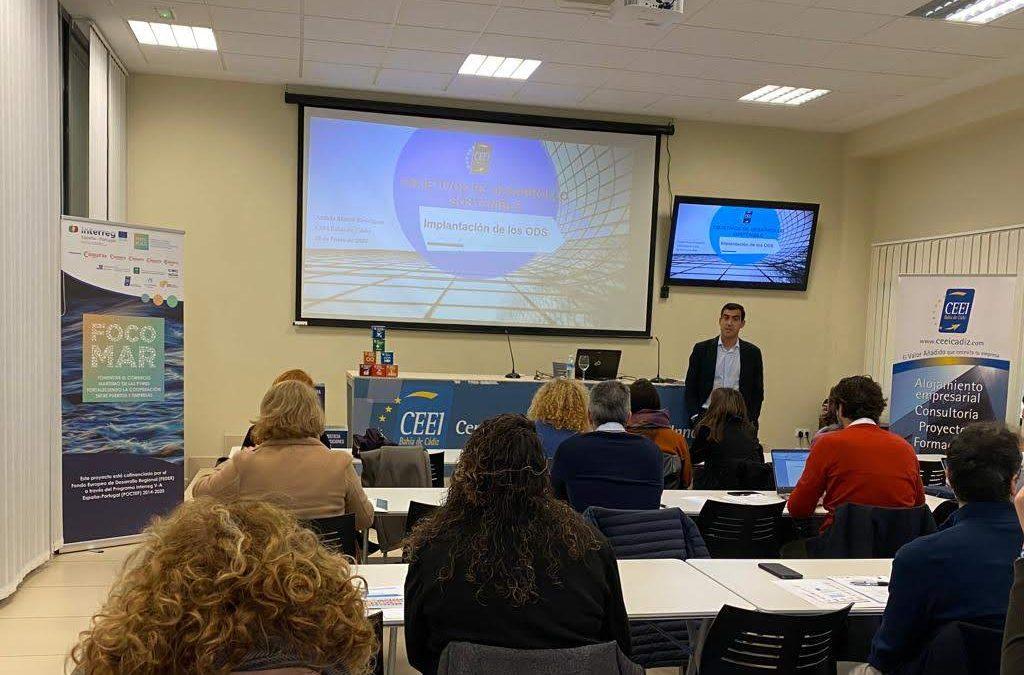 CEEI Bahía de Cádiz organiza un Curso sobre los «Objetivos de Desarrollo Sostenible – ODS»