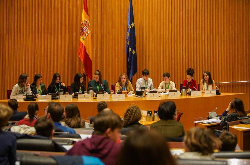 """Un proyecto de FSU participa en la presentación del informe """"Érase una voz"""" en el Congreso de los Diputados"""