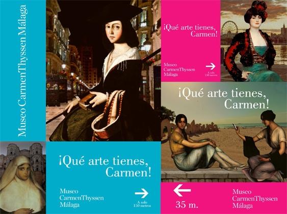 Qué arte tienes, Carmen!, mejor campaña de publicidad en 2019