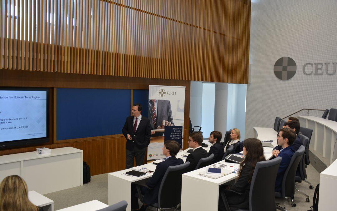 Comienza la I edición del Máster en Derecho Empresarial de las Nuevas Tecnologías