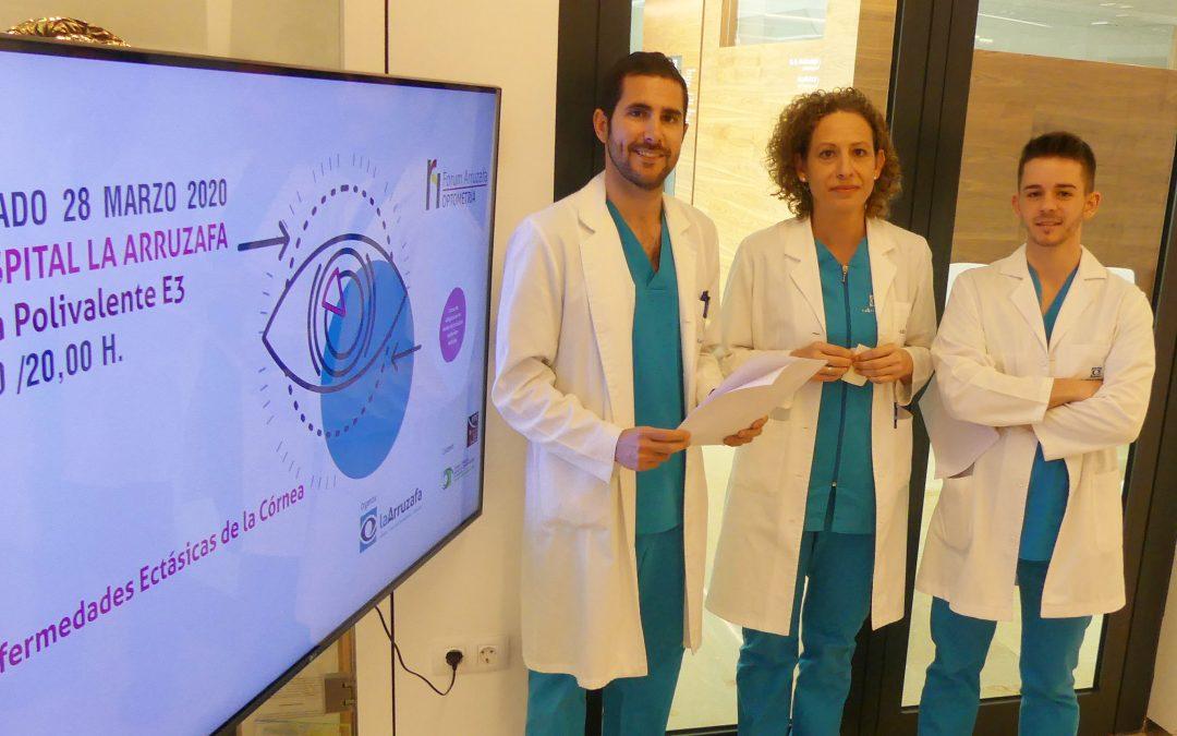 El II Forum Arruzafa Optometría, dedicado a enfermedades ectásicas de la córnea