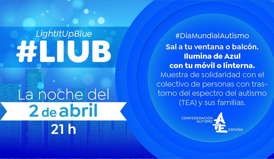 LIUB: una iniciativa para que la población se sume desde sus casas al Día Mundial de Concienciación sobre Autismo