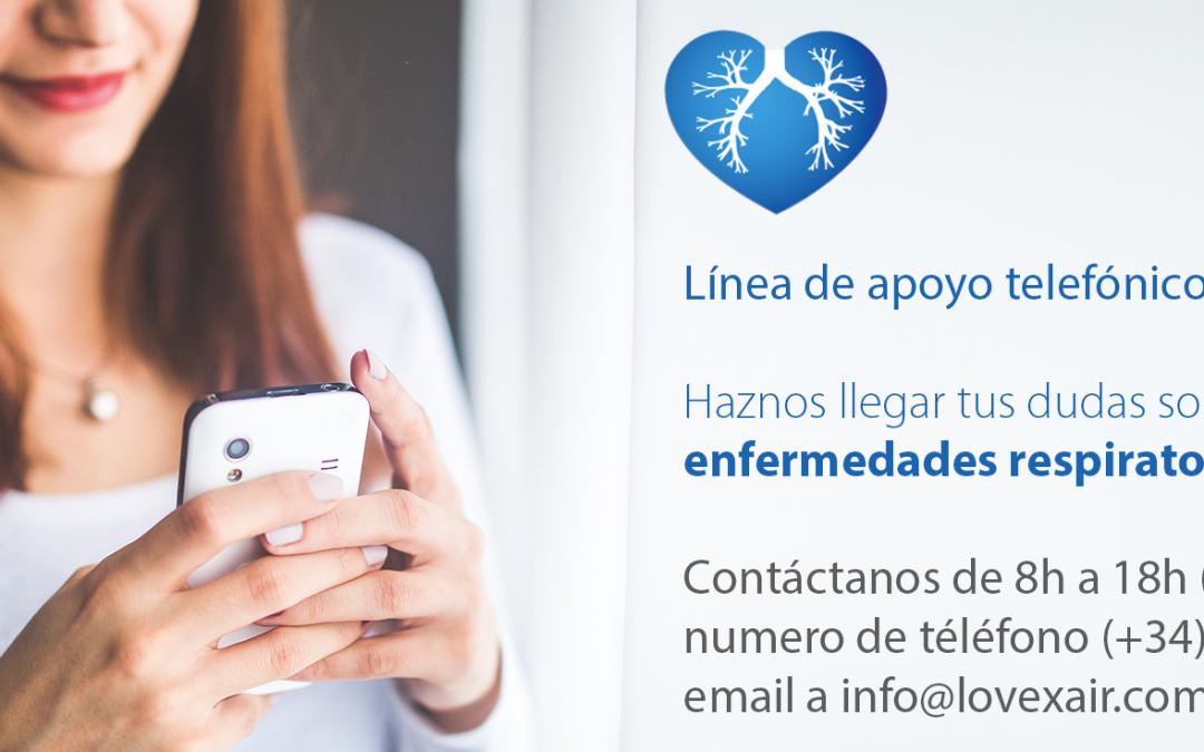 La Fundación Lovexair presta apoyo las personas afectadas por las enfermedades respiratorias