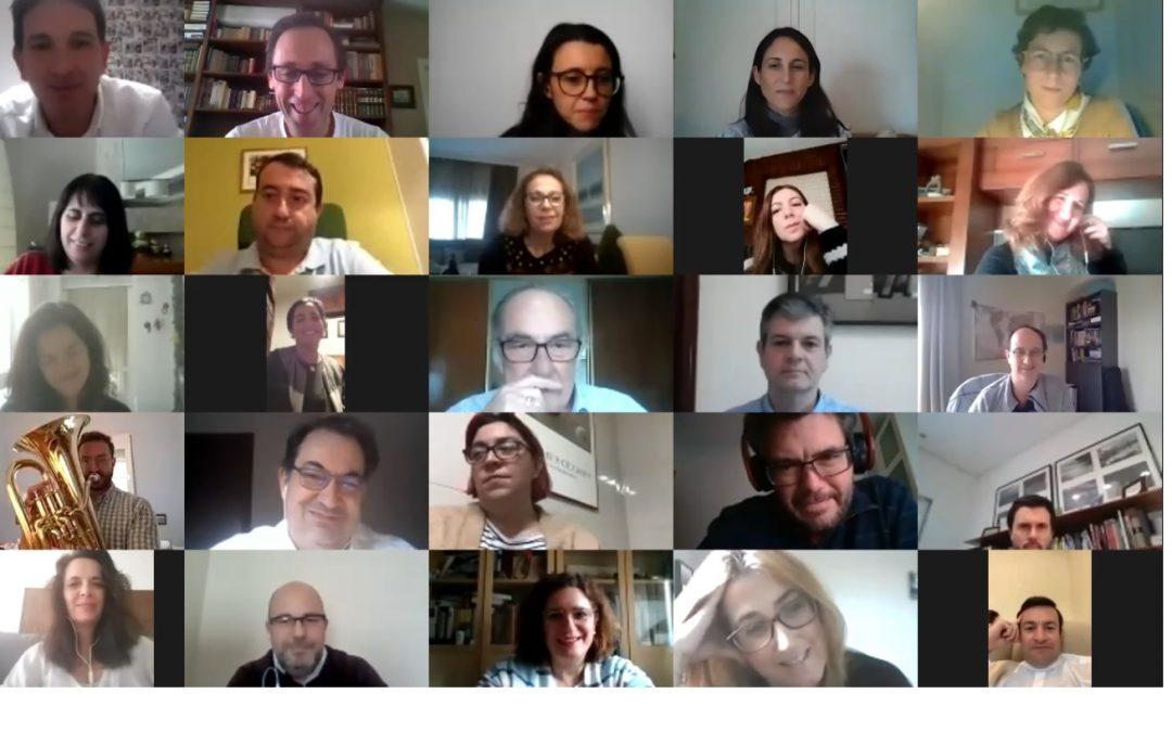 AFA reúne a más de 50 ex alumnos del Curso de Experto de forma virtual