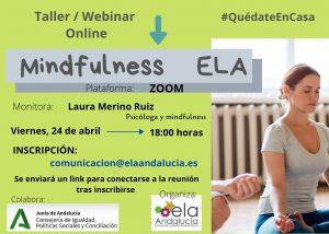 La Asociación ELA Andalucía pone en marcha dos talleres online sobre mindfulness y fisioterapia