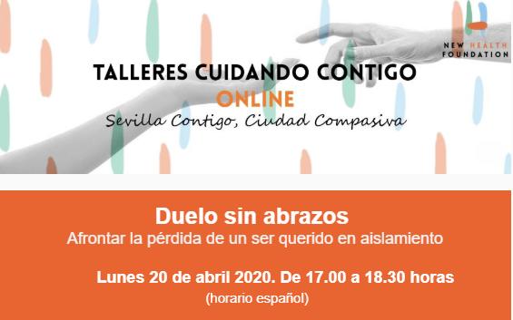 """Fundación New Health organiza el taller on line """"Duelo sin abrazos"""""""