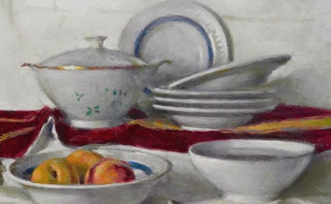 La exposición 'La Huella del Maestro', de Miguel Lozano, en la web de AguaGranada
