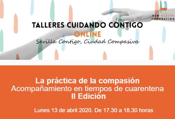 """La Fundación New Health organiza el taller online """"La práctica de la compasión"""""""