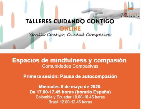 La Fundación New Health imparte on line un ciclo de meditaciones, mindfulness y compasión.