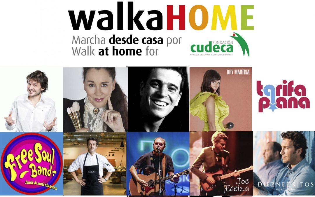 """1.140 personas se unieron a la marcha desde casa por Cudeca """"WalkaHOME"""""""