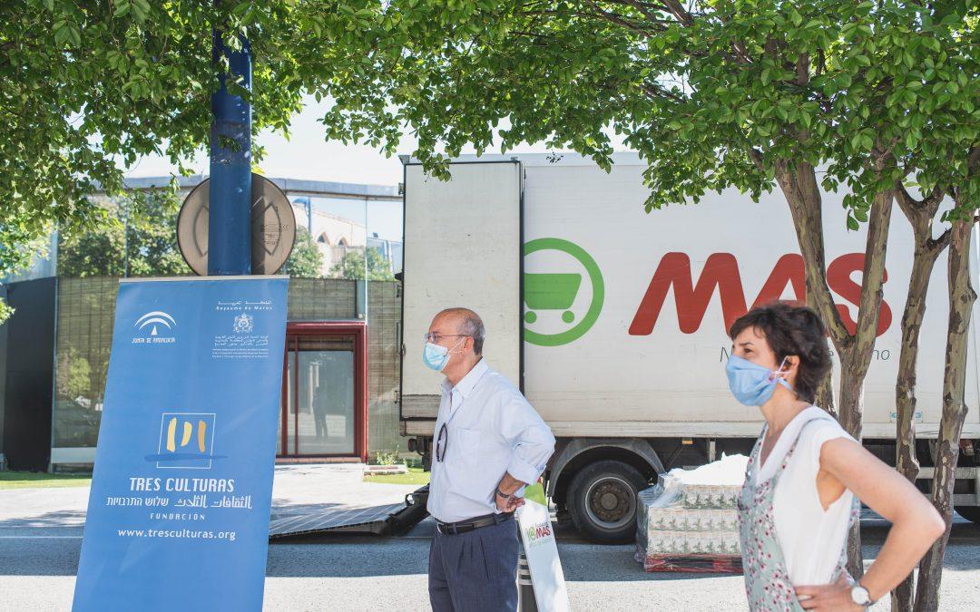 Grupo MAS dona mil kilos de alimentos a la Fundación Tres Culturas para familias marroquíes en Andalucía