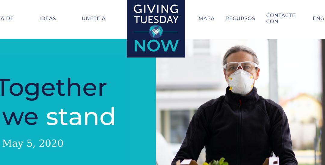 El 5 de mayo se celebra #GivingTuesdayNow