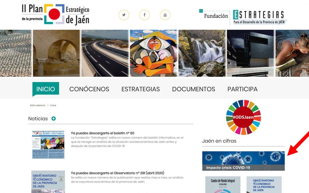 """La Fundación """"Estrategias"""" incluye en su web una batería de indicadores para medir el impacto de la crisis COVID-19"""