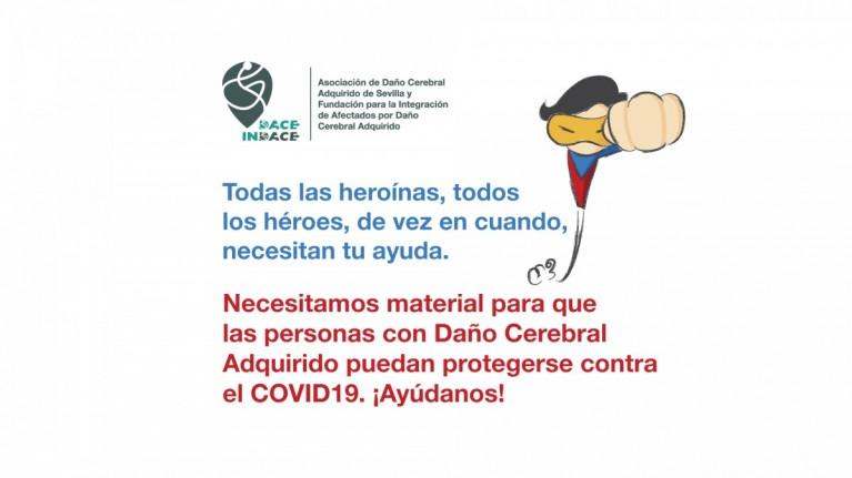 La Fundación INDACE lanzan una campaña para conseguir material de protección contra el COVID19