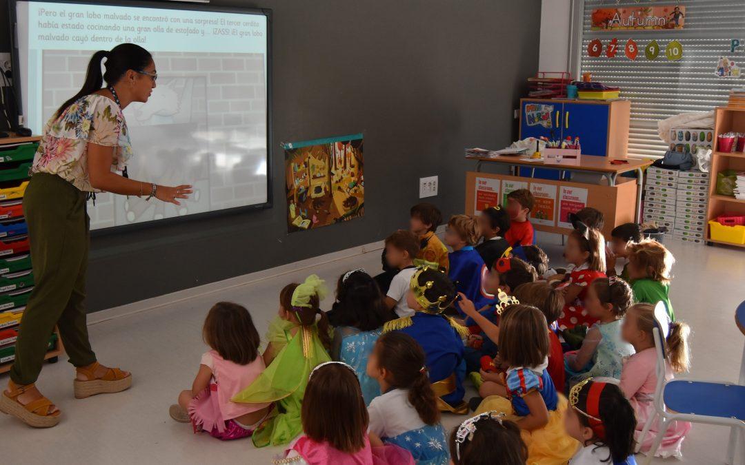 Docente de Educación Infantil, figura de referencia para los más pequeños en sus primeros años en el colegio